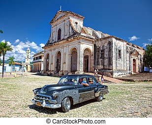 Trinidad street - TRINIDAD, CUBA - SEPTEMBER 15TH View of...
