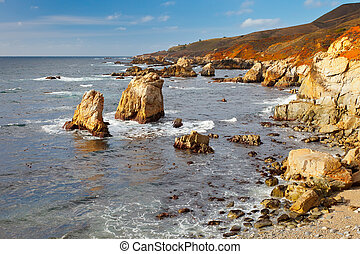 Big Sur Pacific Ocean coast