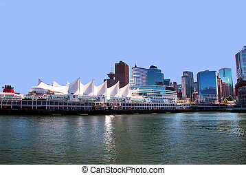 Canada place - Canada Place in Vancouver BC Canada a port of...
