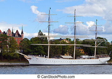 Chapman Ship, Stockholm - Stockholm, The Admiralty House and...