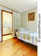 Assistant living bedroom with handicap bathroom - Simple...