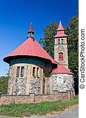 Small church in Bohemia - Czech Republic