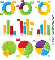 Charts Illustration