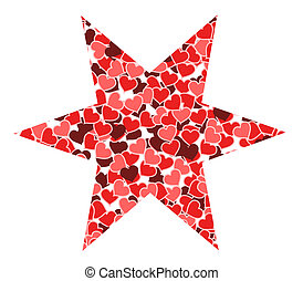 Star of hearts