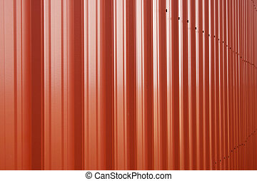 Barn Siding - Red barn siding in focus filling the screen
