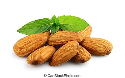Almonds with mint