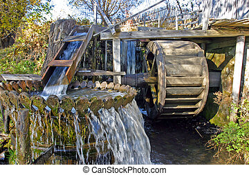 Water-mill - An old water-mill in Transylvania