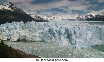 Perito Moreno glacier, El Calafate, Argentina Time lapse