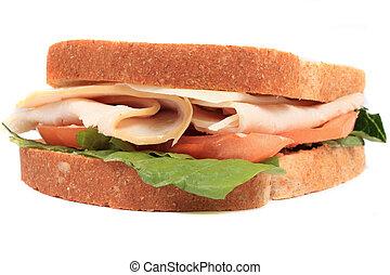 關閉, 三明治, 向上