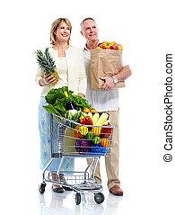 Shopping couple..