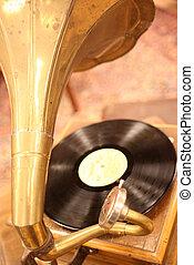 une, antiquité, Phonographe
