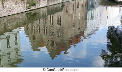 Reflection of building