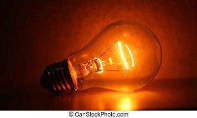 Bulb - Light bulb blinks