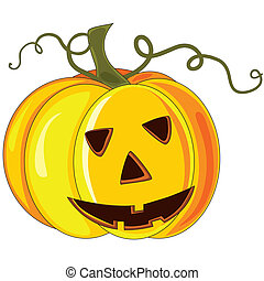 Pumkin - Vector halloween pumpkin.