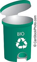 Open Recycling bin