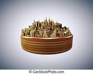 downtown cake