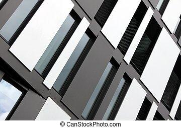 modern window fassade