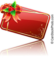 Christmas gift card - Vector illustration of cool Christmas...