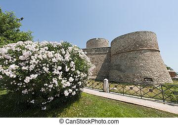 Manfredonia Foggia, Puglia, Italy - Castle