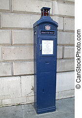 Old fashioned London Police Box