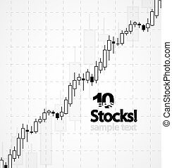 Vector stocks background - Vector business abstract...