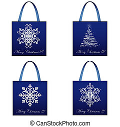 Shopping Christmas Package Set
