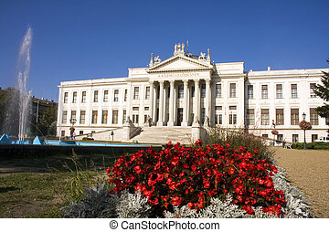 Mora Museum in Szeged - Classicist building in Szeged and...