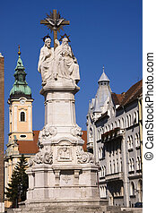 Sculpture in the Dom Square, Szeged - Christian sculpture...