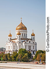 Orthodox church of Christ the Savior ,Moscow