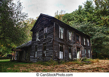 Old farm house - Old abandoned farmhouse in rural WV