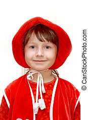 Little Red Riding Hood - On a photo Little Red Riding Hood...