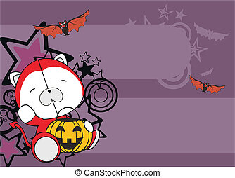 polar bear baby cartoon halloween b - polar baby cartoon...