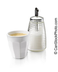 coffe cup sugar