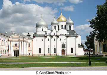 Saint Sophia cathedral in Great Novgorod Russia