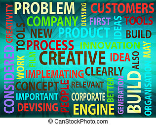 Concept of innovation background - Concept of innovation and...