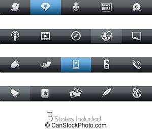 Social Media / Blackbar
