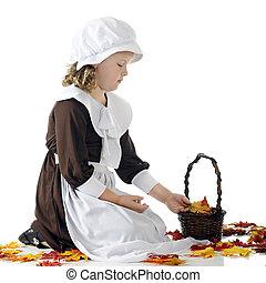 Pilgrim Leaf-Collector
