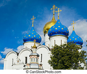 Trinity Sergius Lavra - church in the Trinity Sergius Lavra...