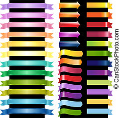 Color Web Ribbons And Arrows