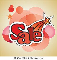 """""""Sale"""" sticker"""