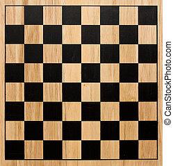 Chessboard - Wood chessboard