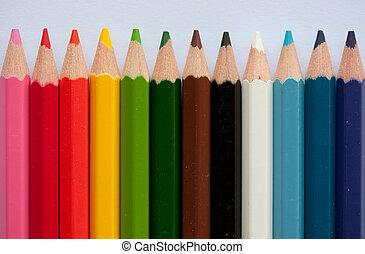 鉛筆, 粉筆