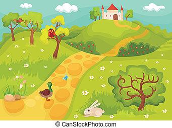 card - vector illustration of a cute card