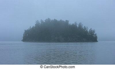 Misty Island.