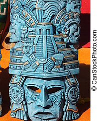 Mayan Handicrafts in Mexico