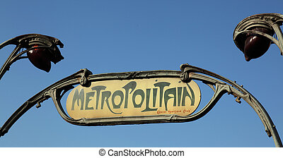 Metropolitain Paris - the Metropolitain is the rapid transit...