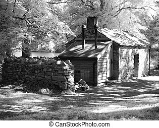 The olde brothy - The old brothy captured using infrared in...