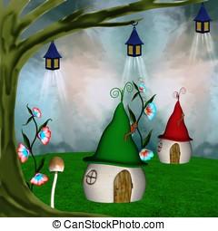 fantasy village - Fairy tale series - fantasy village