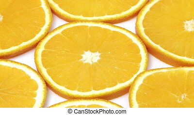 Oranges background   - Fruit abstract