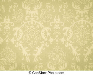 faded low contrast green-yellow vintage background with...